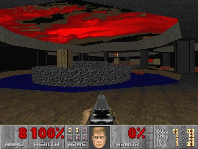 Doom, the classic first person shooter blamed for the Columbine shooting.