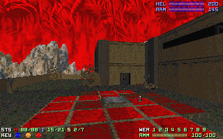 The PSX Doom mansion teleporter puzzle.