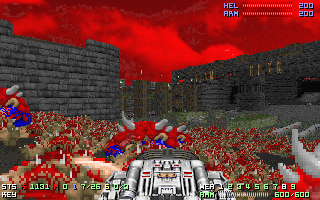 Doom allows massive numbers of enemies though...