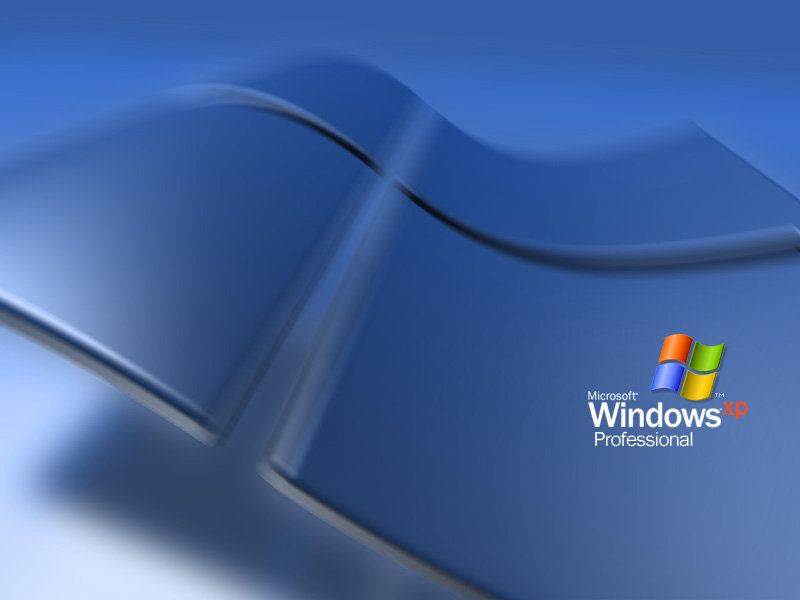 Windows XP wallpaper.