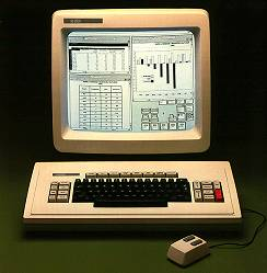 Xerox Star computer system from 1981.