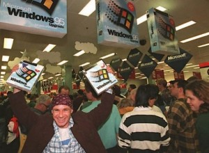 Windows `95 launch.