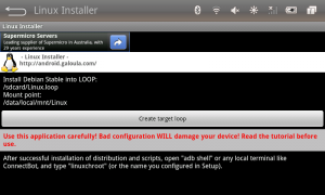 Linux installer for Android.