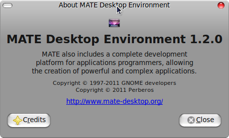 About MATE Desktop Environment.