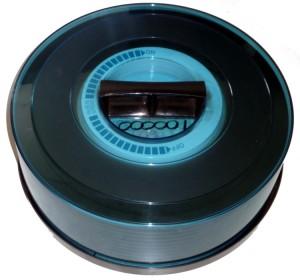 Large hard disk platter cassette.