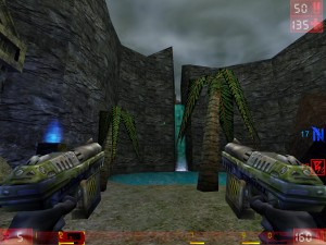Unreal Tournament GOTY running with Wine.