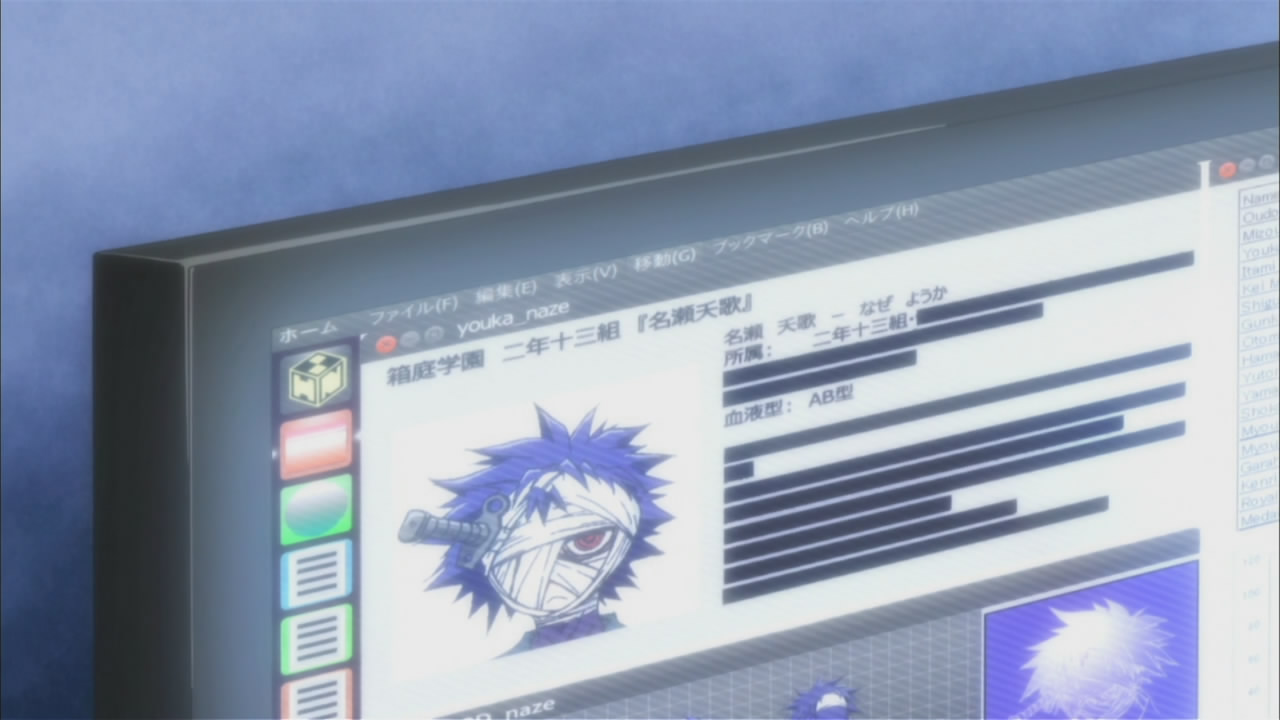 Ubuntu Unity desktop spotted in the Medaka Box anime.