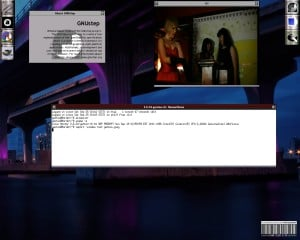 Gentoo Windowmaker desktop.