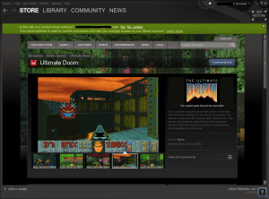 The Steam Client on Linux Mint 14.
