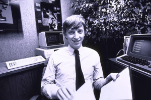 Bill Gates in the old days.