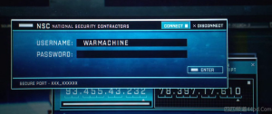IP addresses in Iron man 3.