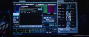 Iron Man 3 computer interface.