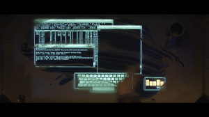 TRON Legacy Encom UNIX machine.