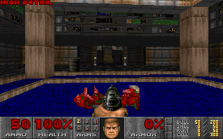 Installing and playing the classic PC Doom game on Linux