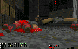 Doom, the classic FPS game.