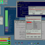 4Dwm environment from the Silicon Graphics workstations running IRIX.