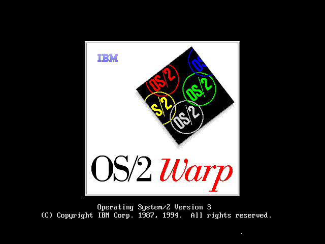 OS/2 Warp. This was a great old operating system.