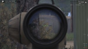 The Arco sight using the scope mode.