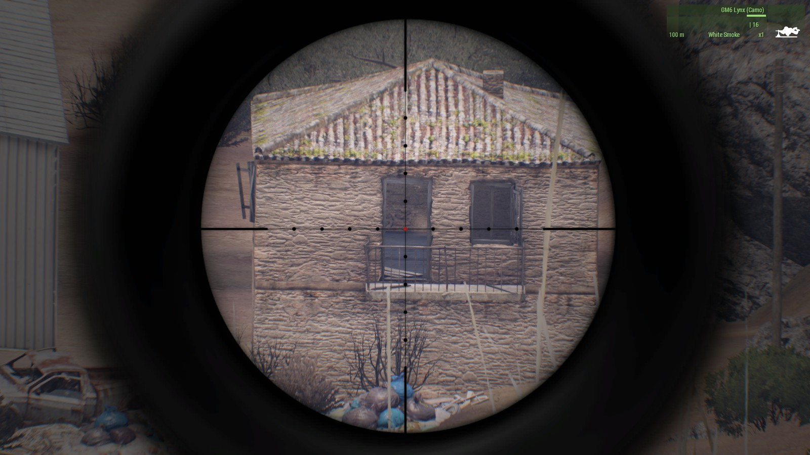 My shot was only slightly off at 651 meters.