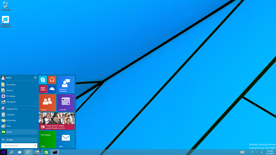Windows 10 desktop.