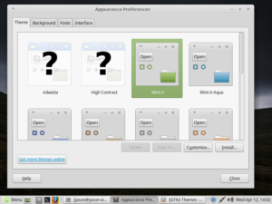 Installing new GTK3 themes on Linux Mint 18.