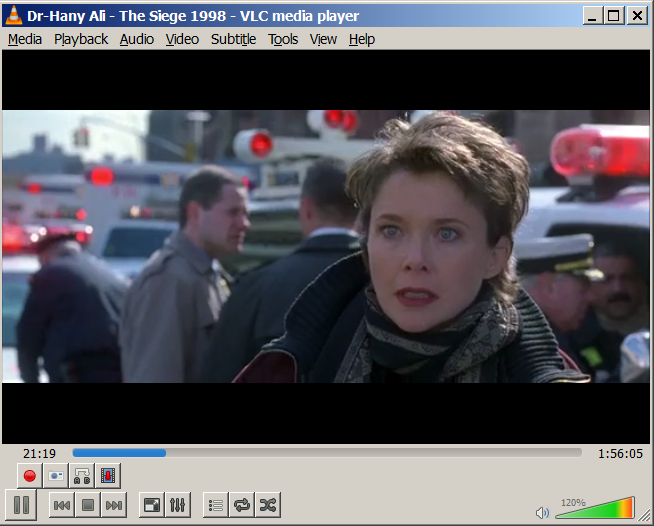 Playing Vimeo stream in VLC.