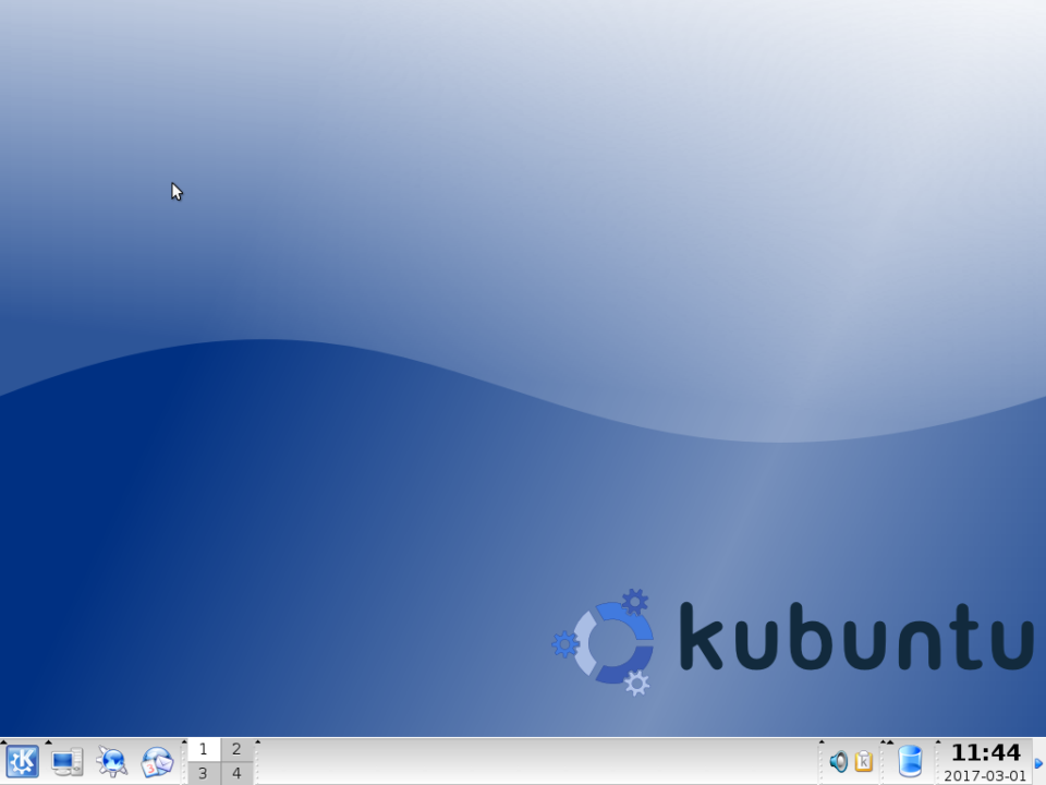 KDE 3.4 desktop environment.
