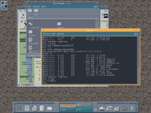 CDE UNIX desktop environment.
