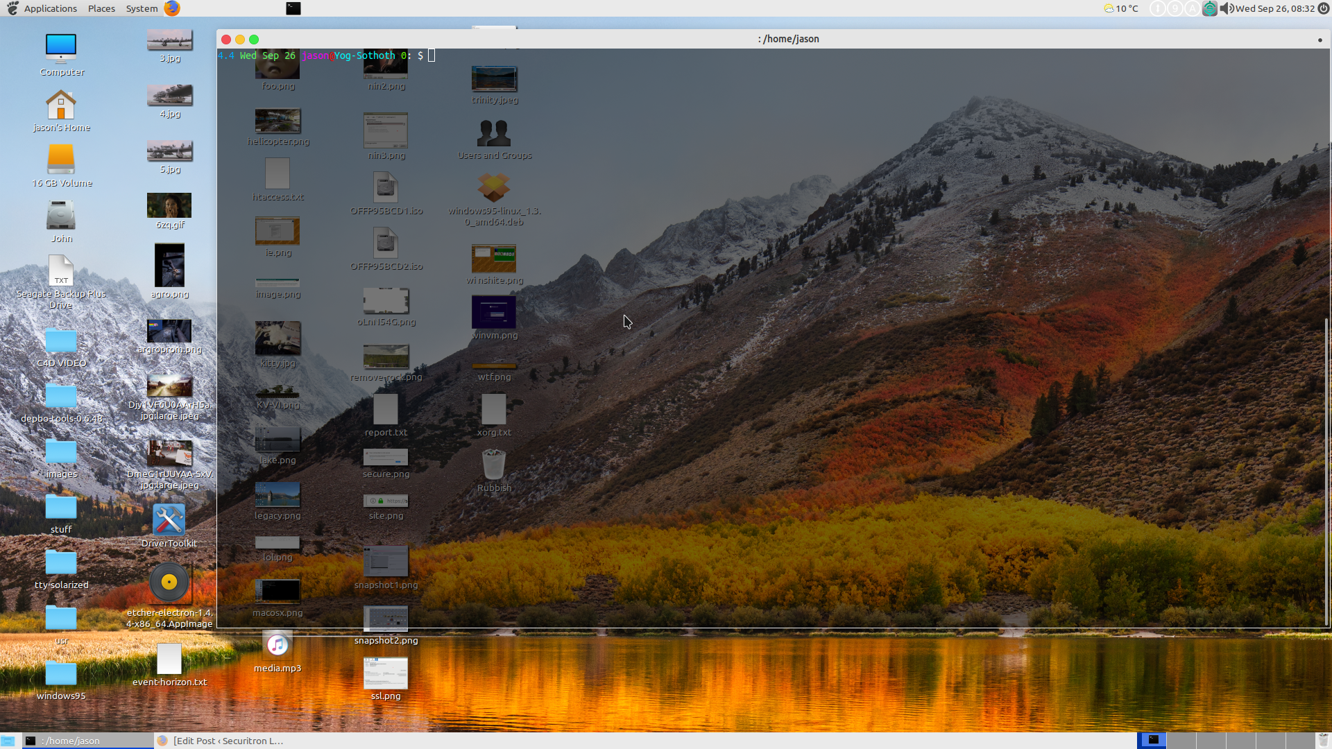 Make the Linux MATE desktop look just like Mac OSX  – Securitron