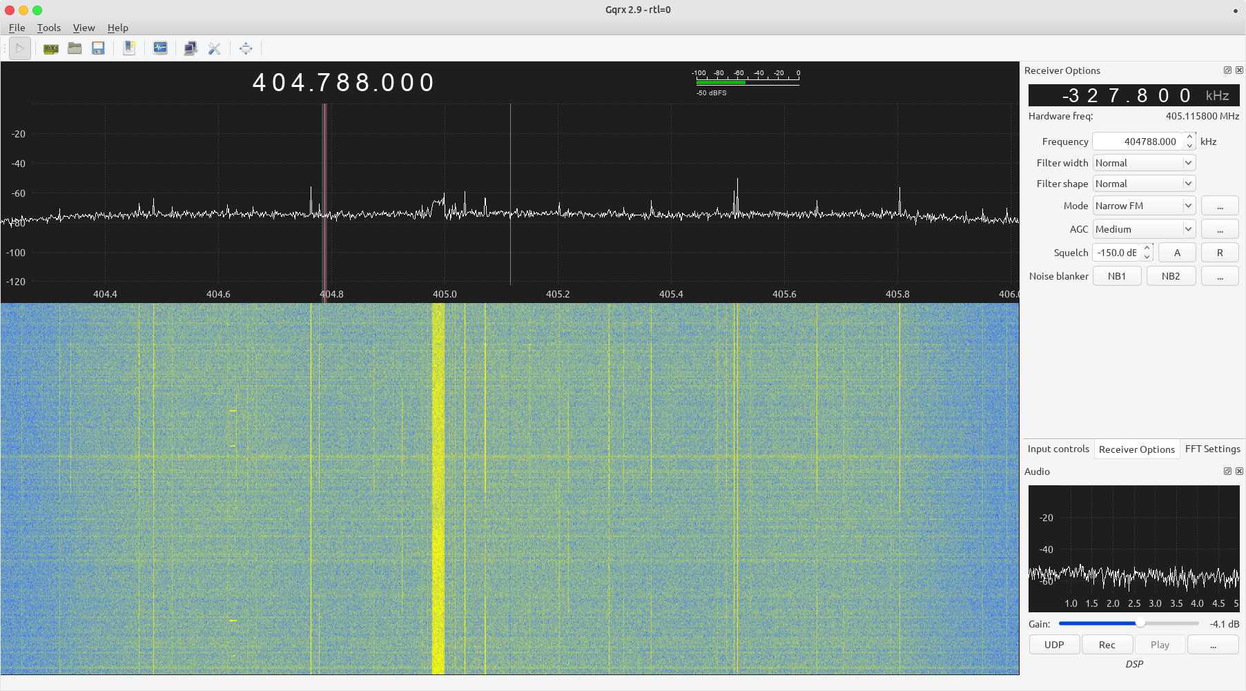 Listen to VHF and UHF radio transmissions easily with Linux software